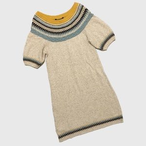 BCBGMAXAZRIA Oatmeal Sweater Dress sz XS